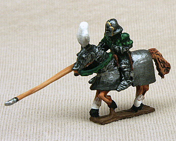 HYC82 Late 15th Cent  French Mt  Man-at Arms